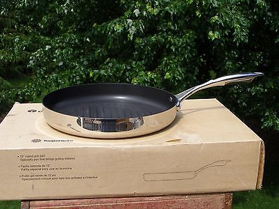 "NIB Tupperware 12"" Grill Pan Chef Series Culinary Collection Cookware"