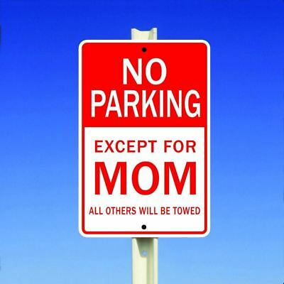 """MOTORCYCLE PARKING ONLY ALL OTHERS WILL BE TOWED AWAY SIGN 8 x 12/"""" METAL"""