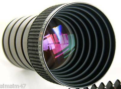 Projection lens P-Sonnar T Carl Zeiss 2,5/90 mm. made in Germany TOP