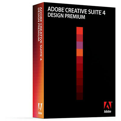 ADOBE Creative Suite CS3 + CS4 Design Premium deutsch MAC Vollversion MWST BOX