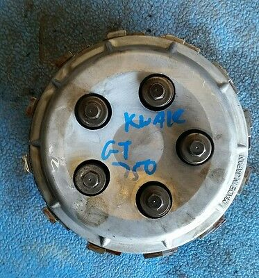 kawasaki gt750 clutch inner and friction plates