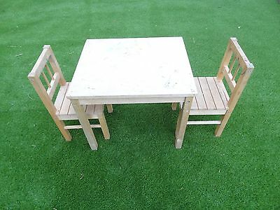 Kids Table And Chairs / Children's Desk + Chair / Painting Table / Childs Desk