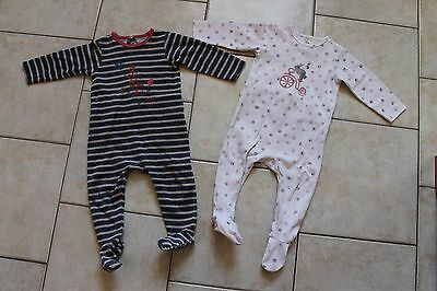 lot de 2 pyjama Catimini18 mois