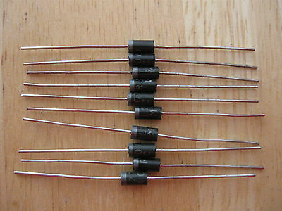 5 X RL207 1000V 2A DO-15 Silicon Rectifier Diodes FAST UK DESPATCH