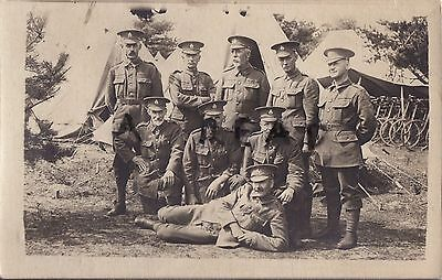 Soldier Group 4th Volunteer Battalion Hampshire Regiment at annual camp