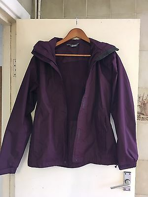 Hi Gear Size 10 (UK) Waterproof Jacket Purple Outdoors