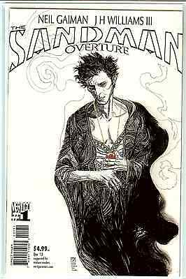 Sandman Overture #1 J.H. Williams III B&W Sketch 1:100 Variant Edition A NM