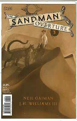 Sandman Overture #3 J.H. Williams III Special Ink 1:200 Variant Edition B NM