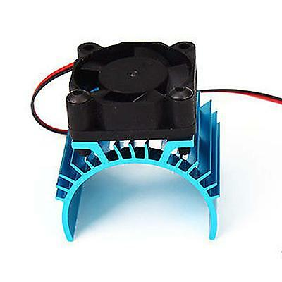 Aluminum Heat sink with 5V Cooling Fan for 1/10 RC Car 540 550 3650 Size Motor B