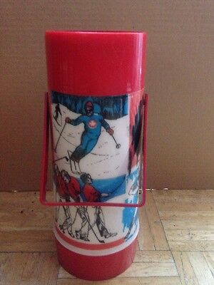 Aladdin Thermos Celebrating Canadian Sports - Used