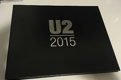 U2 Limited Edition VIP Commemorative Album Book - 2015 Innocence Experience Tour