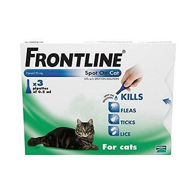 FRONTLINE Spot On for Cats, 3 Pipettes