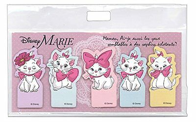 New Disney Marie Stand Type Die Cut Sticky Notes Dz-78322 Cute Cat