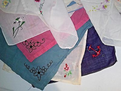 Vtg. Lot of **75 Doilies Pillow Cases Table Runners Hankies Embroidered Crochet