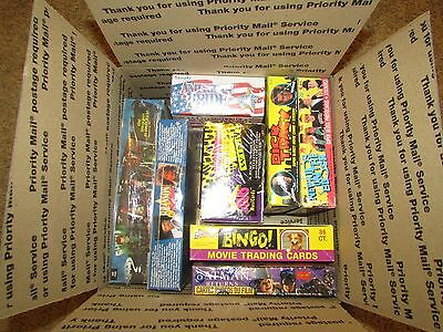Lot of (8) Unopened Non Sports Trading Boxes Factory Sealed With 2 Diff Batman