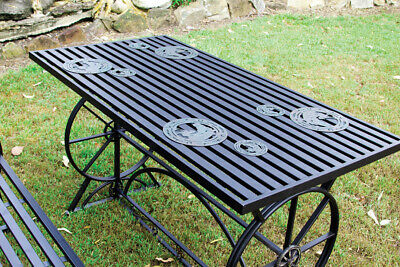 New Outdoor Dining Table - Steel - HY460 Outdoor FurnitureMystalee Designs by Br