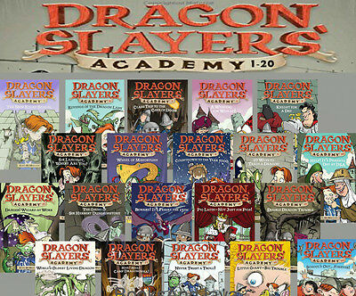 Complete Dragon Slayers Academy Series 1-20 (pb) Kate McMullan 20 Books NEW