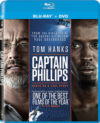 Captain Phillips [2 Discs] [Includes Digital (Blu-ray Used Very Good) BLU-RAY/WS
