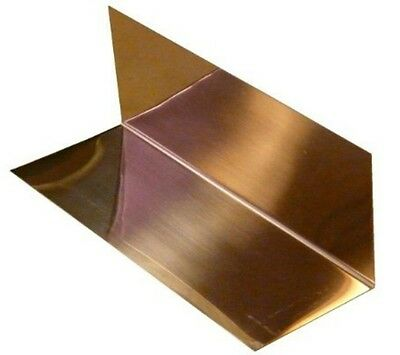 "4"" x 4"" x 8"" Copper Step Flashing - 16oz - 24ga. - 10-PACK"