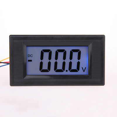 LCD Digital Voltmeter Voltimetro LED Volt Meter Gauge Voltage Tester 7.5V- 20V.