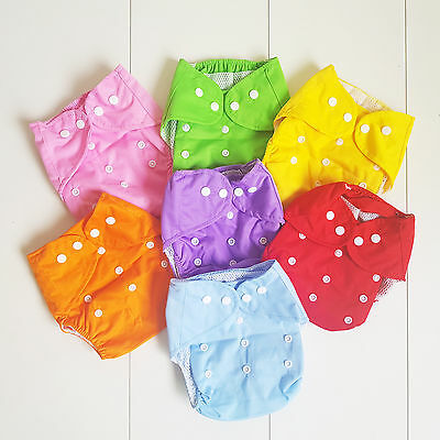 Reusable Adjustable Washable Modern Baby Cloth Nappies Diapers Insert Nappy