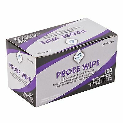 WipesPlus Probe Wipe Sachet Sanitizing Wipes 083426350843(100/Pack) FreeShipping