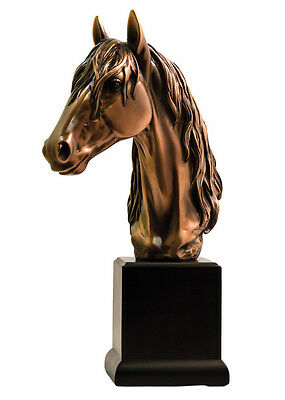 New Horse Head - Large Bronze Statue - 7404 Statue