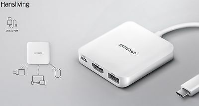 Samsung EE-PW700, Multiport Adapter for Galaxy TabPro S , USB Type-C, HDMI