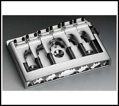Schaller Electric  Guitar Bridge-3D6 Chrome 475 - 12120200  Made in Germany
