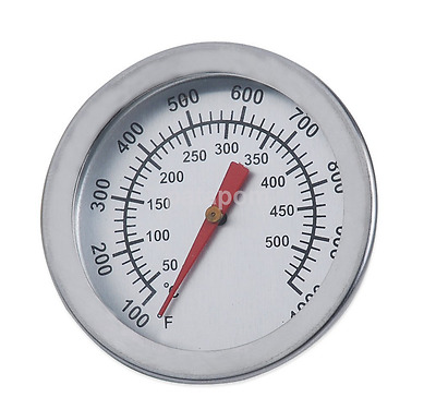 New BBQ Smoker Grill Stainless Steel Thermometer Gauge Temp Barbecue Cook AU