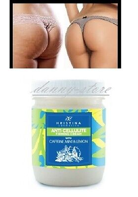 Anti-cellulite Firming Cream with Caffeine, MINT and LEMON 200 ml.