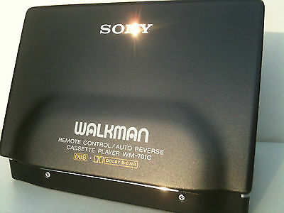 Sony WM-701C Walkman Personal Cassette Player Kassettenspieler Dolby c working