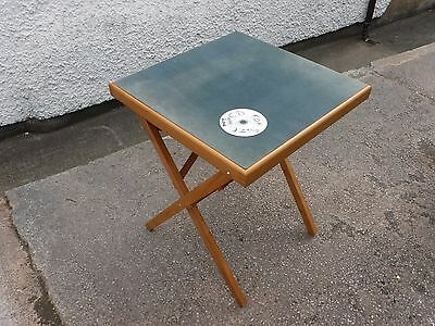Folding Baize Top  Card  /  Games Table.  Free  Delivery.