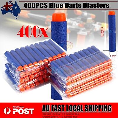 400x Round Head Bullets Gun Darts Blasters for Outdoor Toys Elite Toy Refill AU