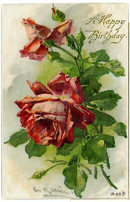 woven Silk Series Novelty Postcard.posted 1909 american stamp.