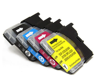 20x Ink Cartridge LC39 LC985 for Brother DCP J315W J125 J515W MFC J220 Printer