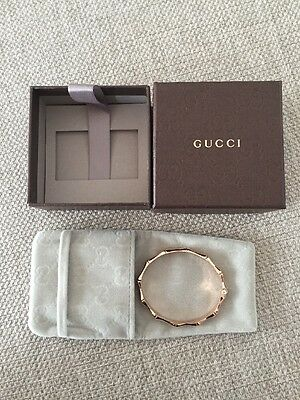 Gucci Rose Gold Bamboo Bracelet