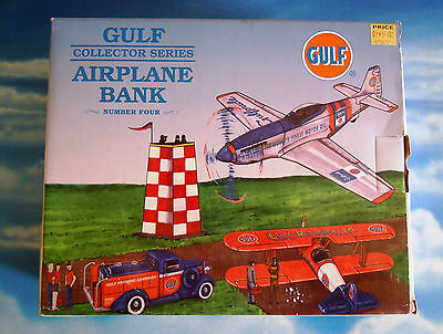 GULF P-51D Mustang die-cast model by Spec Cast  1:48 scale  'Coin Bank Version'