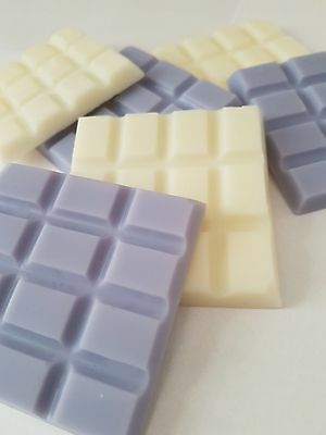 Highly Scented Soy Wax Melts Tart Bars - Oil Burner - Many Fragrances - Free P&p