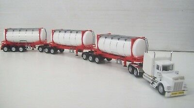 Ho Kenworth B Triple With Container Tanks