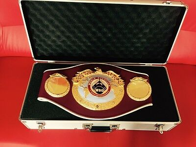 Official WBO World Championship boxing belt!Also selling genuine IBF,WBA