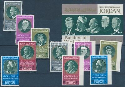 Jordania stamp Significant personalities of the 20th century MNH 1967 WS241191