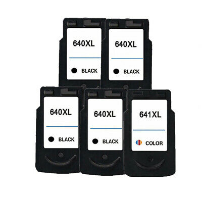 2x Ink Cartridges PG-640XL CL-641XL for Canon MX436/ MX456/ MX476/ MX516 Printer