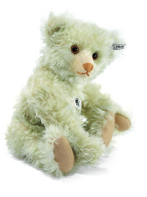 Steiff 1925 Replica Teddy Bear Light Green Mohair Jointed Limited Ed 408755 New