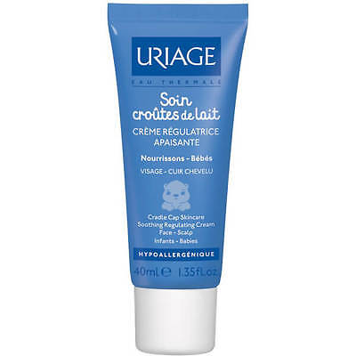 Uriage Cradle Cap Serum Cream (40ml) Baby Infant Cleanse Purify Free Delivery