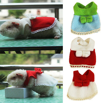 Hamster Guinea Pig Squirrel Pet Small Dress Skirt Dress Clothes Apparel Clothing
