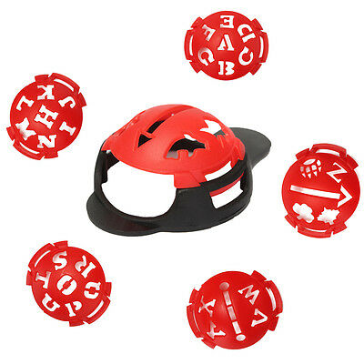 6 in 1 Golf Ball Line Liner Marker Multi-Template Drawing Alignment Marks Tool
