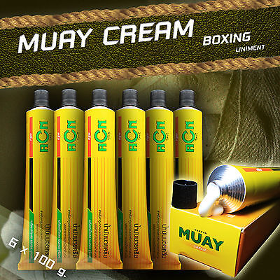 "Namman ""Muay Thai boxing cream"" crema thai boxing mma Kick 6 PZ PRONTA CONSEGNA"