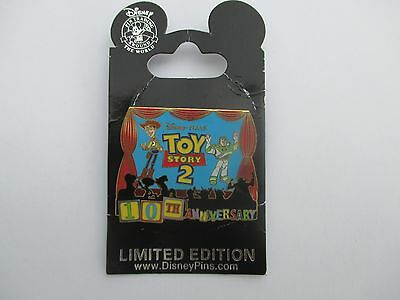 Disney Toy Story 2 10th Anniversary Woody & Buzz LE 1500 Pin