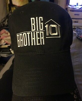Big Brother 10 TV Series Cast & Crew Ball Cap 2008 USA